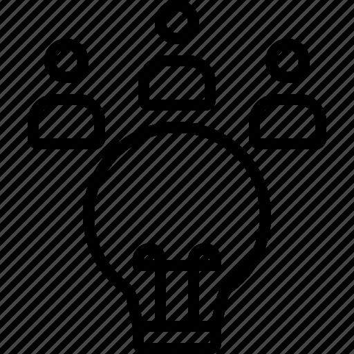 concept, idea, innovation, inspiration, lamp, power, solution icon