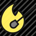 match, fire