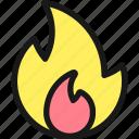 matches, fire