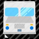 police, bus, vehicle