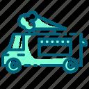 commercial, cream, ice, truck, van, vehicle