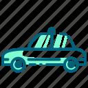 car, cop, police, sedan