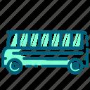 bus, school, transportation, vehicle
