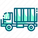 cargo, delivery, shipping, truck, vehicle