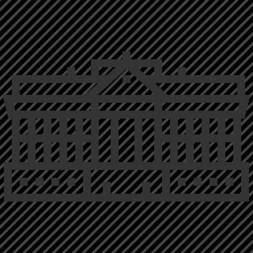 arizona, capital, landmark, location, state icon