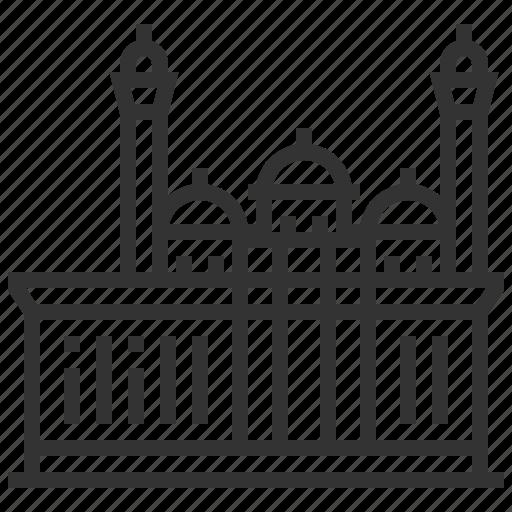 bibi, building, heybat, landmark, mosque icon