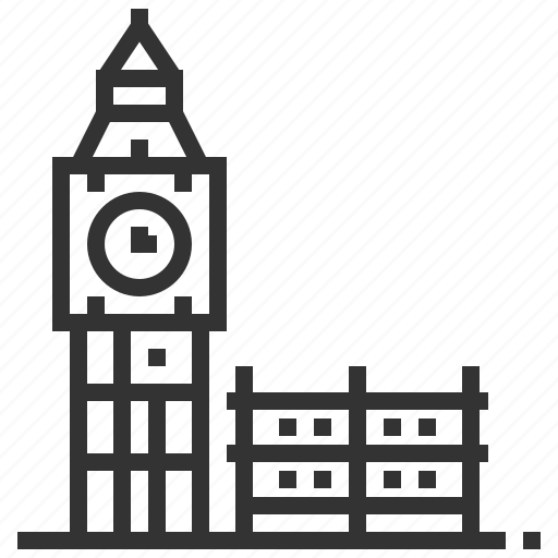ben, big, building, construction, landmark icon