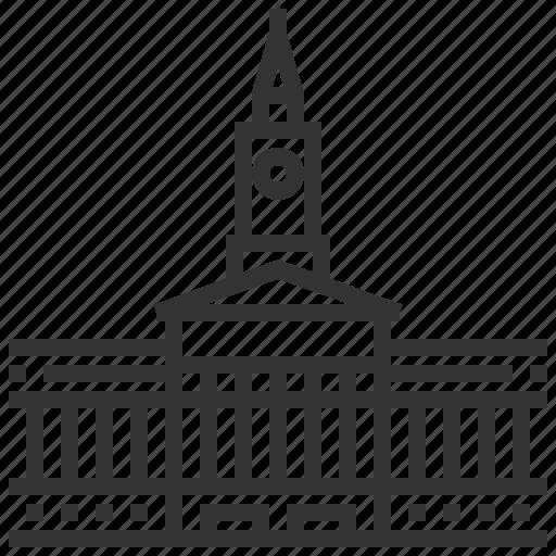 brisbane, building, cities, city, estate, hall, landmark icon