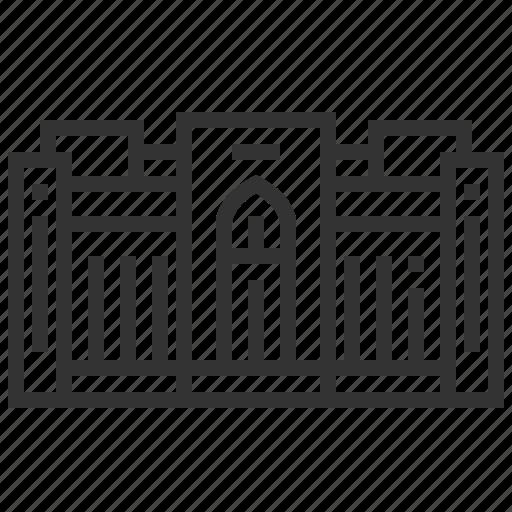 landmark, location, museum, national, oman icon