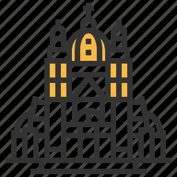 basilica, heart, landmark, sacred icon