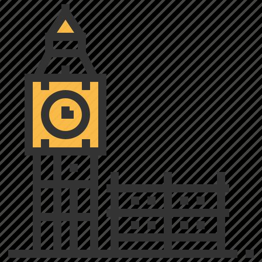 architecture, ben, big, building, landmark icon