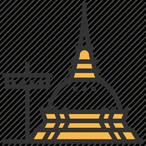 doi, landmark, suthep, travel icon