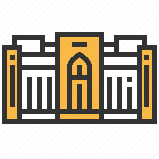 architecture, building, landmark, museum, national, oman icon