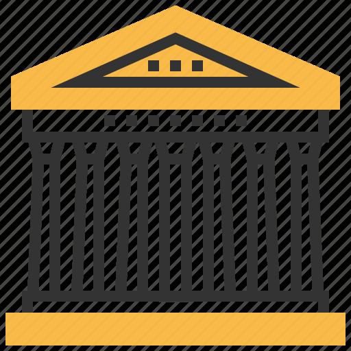 architecture, building, landmark, pantheon, templet icon