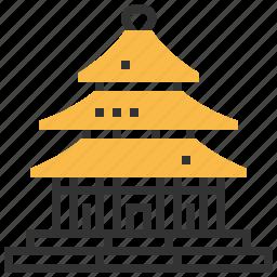 architecture, building, heaven, landmark, of, temple icon