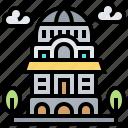 antim, monastery, religion, romania, tower icon