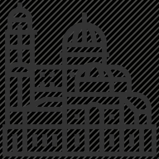 alexander, building, cathedral, landmark, nevsky icon