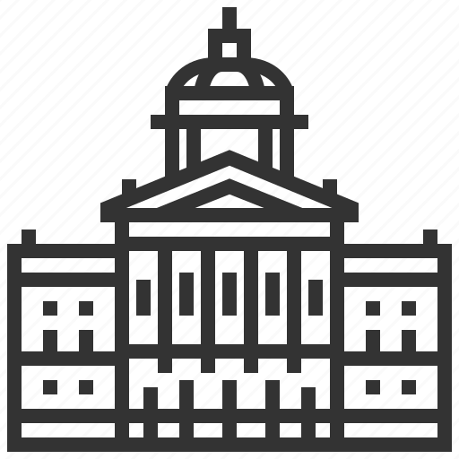 country, federal, landmark, palace, switzerland icon