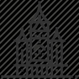building, cathedral, landmark, orthodox, timisoara icon