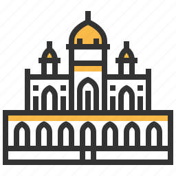 architecture, building, humayuns, landmark, tomb icon