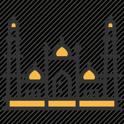 architecture, building, jama, landmark, masjid icon