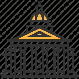 architecture, building, landmark, pantheon icon