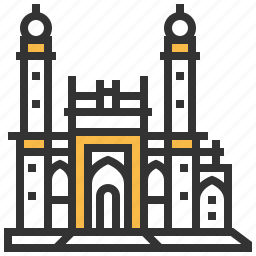 architecture, building, landmark, mosque, pir, taza icon