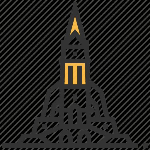 architecture, building, cathedral, landmark, vaduz icon