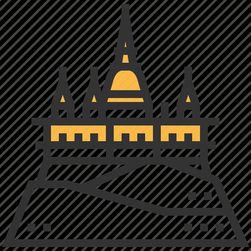 building, landmark, saket, wat icon