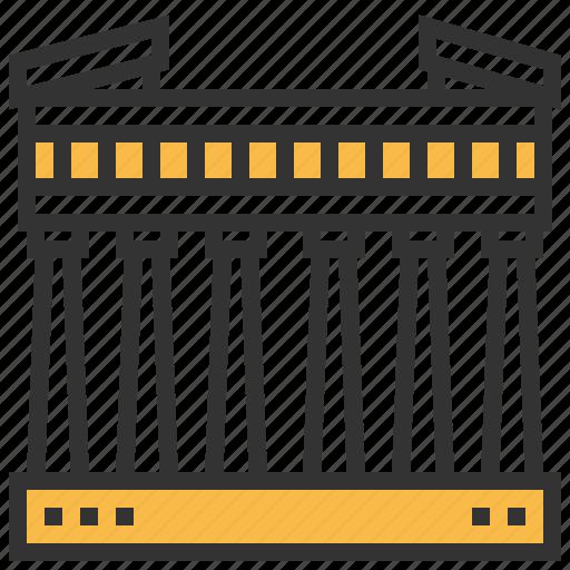 athens, building, landmark, parthenon icon