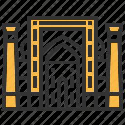 building, dor, landmark, madrasah, sher icon