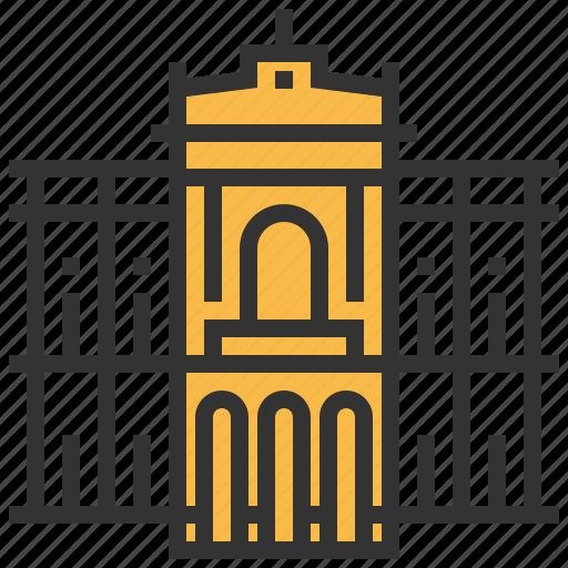 building, caridad, la, landmark, teatro icon
