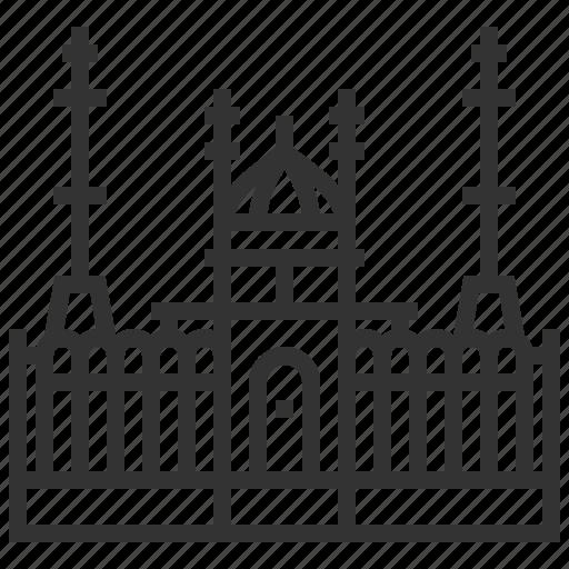 architecture, astana, building, landmark, mosque, nur icon