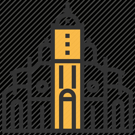 architecture, building, cartago, landmark icon