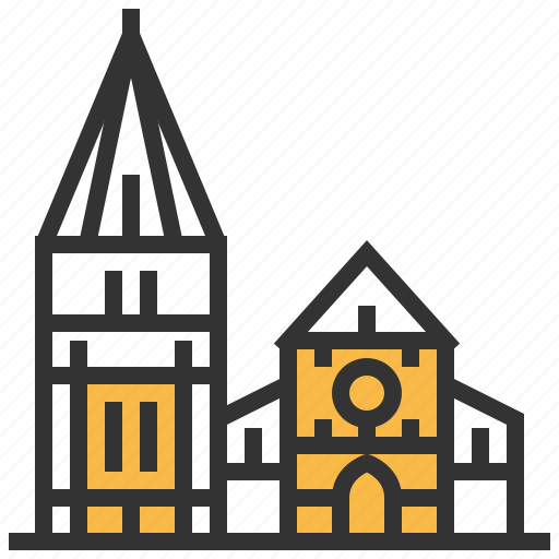 architecture, building, cathedral, christchurch, landmark icon