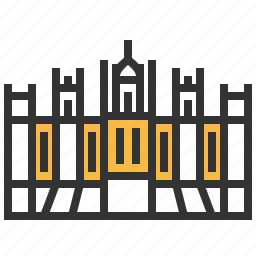 architecture, building, hungarian, landmark, parliament icon