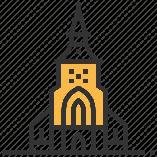 architecture, building, landmark, odense icon
