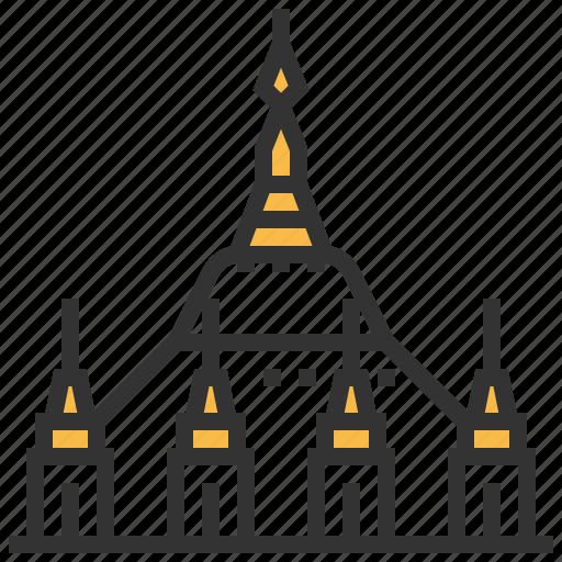 architecture, building, landmark, myanmar, pagoda, shwedagon icon