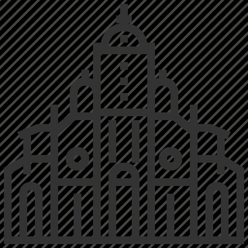 architecture, building, cartago, famous, landmark, tourism icon