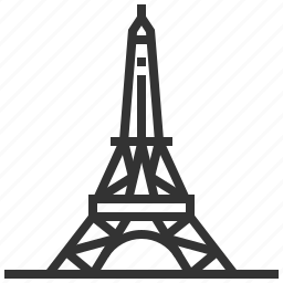 architecture, building, construction, eiffel, landmark, tower icon