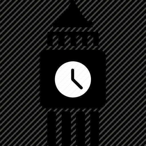 big ben, building, england, landmark, london, tourism, tower icon