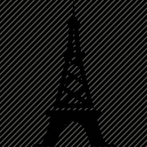 building, eiffel, france, landmark, paris, tower, travel icon