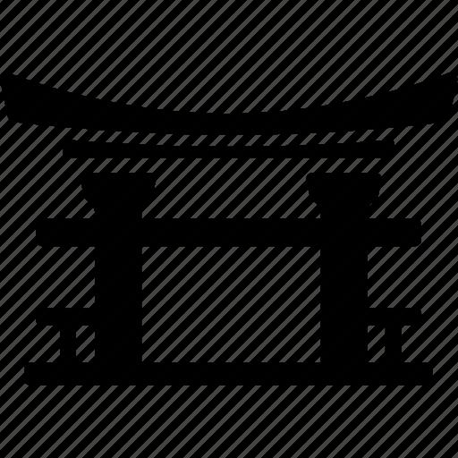 china, court, gate, japan, korea, landmark, torii gate icon