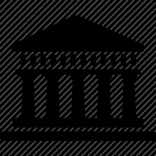 america, banking, building, landmark, treasury department, washington, white house icon