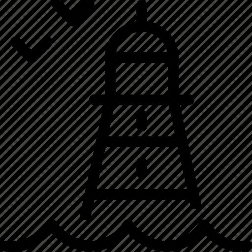 Bird, lighthouse icon - Download on Iconfinder on Iconfinder