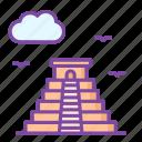 mesoamerika, pyramid, maya, landmark