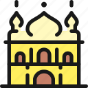 landmark, golden, temple