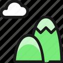 landmark, mountain