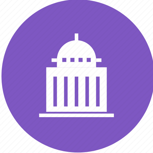 building, congress, embassy, government, politics, president, speaker icon