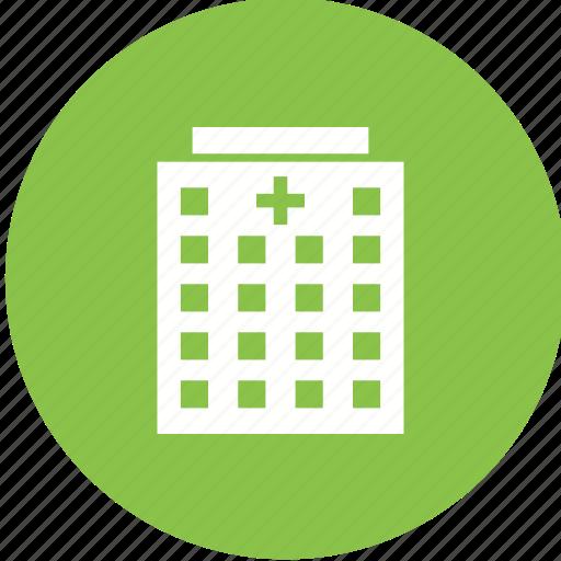 building, emergency, entrance, health, hospital, medical, room icon